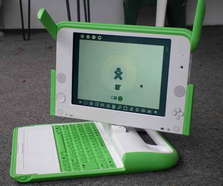OLPC Laptop opened