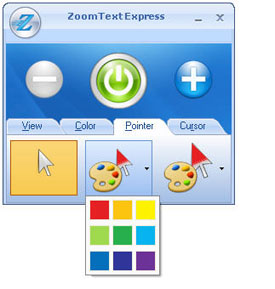 ZoomText Express Pointers